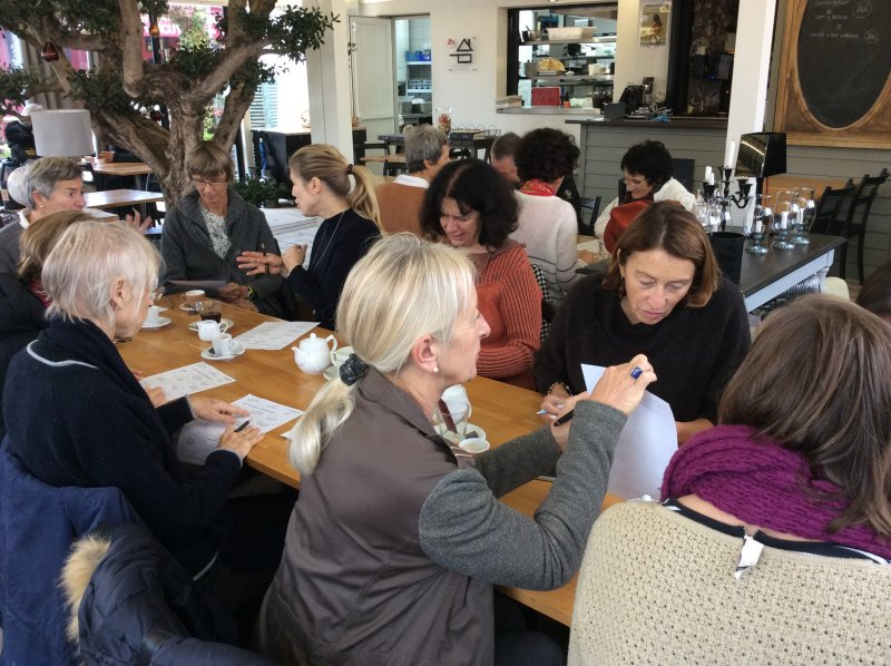 Language Cafe Ile de Re Sue Dudill 3