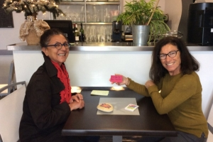 Loix Sue Dudill Language Cafe