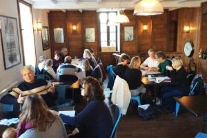 St Martin Sue Dudill Language Cafe