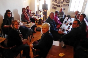 La Flotte Sue Dudill Language Cafe