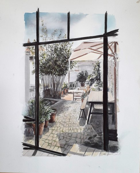 Ars Jardin Sue Dudill Artitste Ile de Re