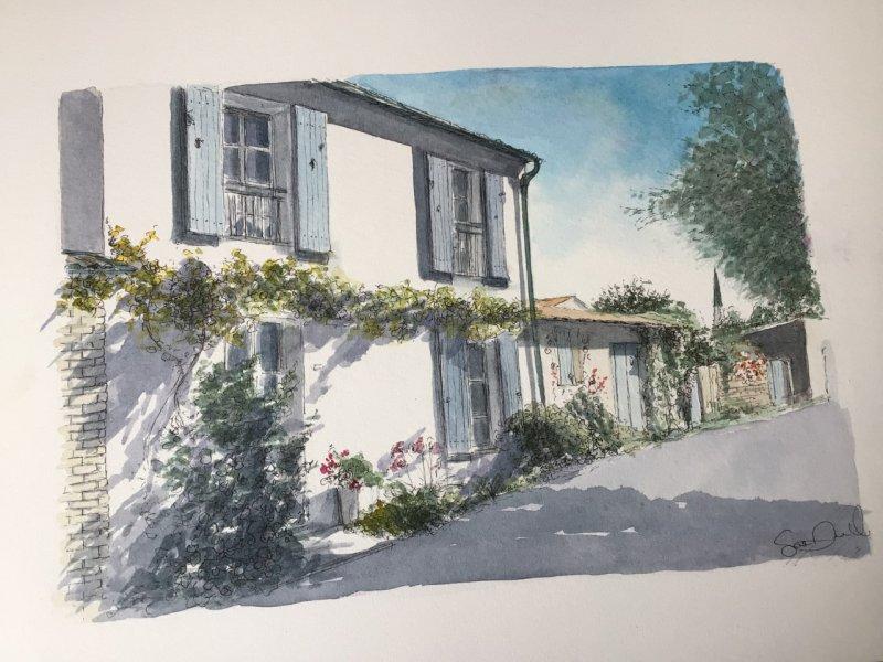 Ars Maison Artiste Ile de Re Sue Dudill