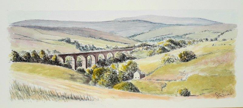 Ribble Viaduct Sue Dudill Artiste Ile de Re