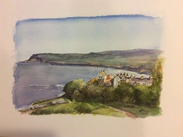 Robin Hoods Bay Sue Dudill Ile de Re