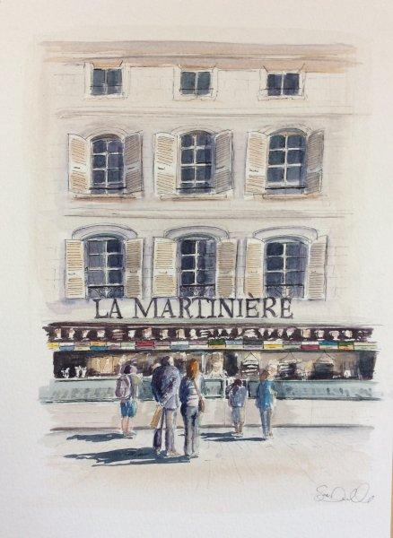 St Martin La Martiniere Sue Dudill Artiste Ile de Re