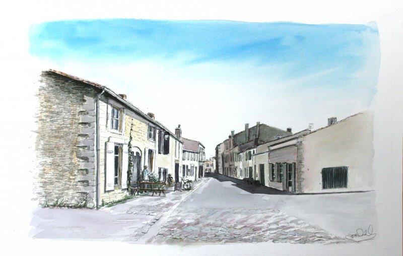 St Martin Portes des Campani Sue Dudill Artiste Ile de Re
