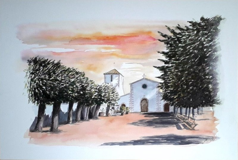 Sue Dudill Artiste Ile de Re Aquarelle