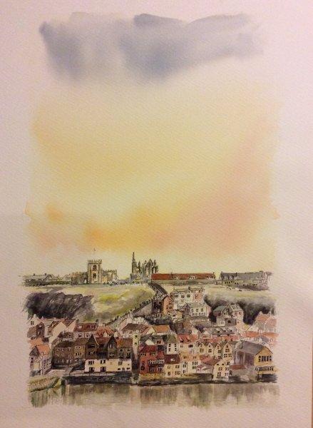 Whitby Yorkshire Sue Dudill Artiste de Loix