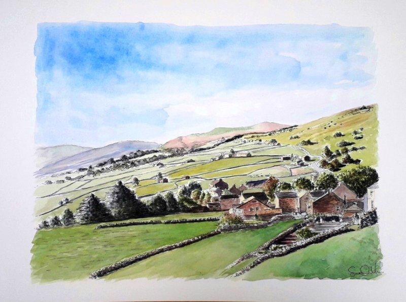 Yorkshire Sue Dudill artiste Ile d Re