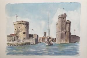2 tours La Rochelle Sue Dudill artiste Ile de Re