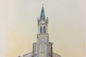 La Couarde Eglise Sue Dudill Ile de Re