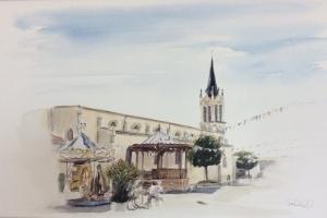 La Couarde village