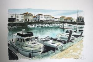 La Flotte Bateau Jacques Sue Dudill  Ile de Re