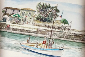 La Flotte manege VG Sue Dudill Artiste Ile de Re