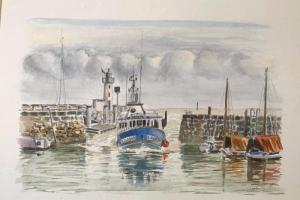 La Flotte voilier port
