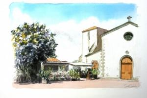 Loix Eglise RDS Sue Dudill Artiste Ile de Re