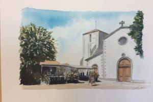 Loix Route du Sel Sue Dudill Artiste