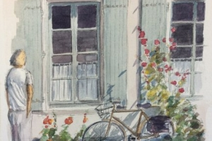 Peeping Tom Sue Dudill Artiste Ile de Re