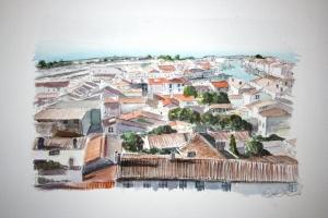 St Martin Sue Dudill Artiste Ile de Re