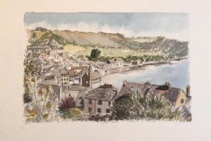 UK Kingsand Sue Dudill Artiste Ile de Re