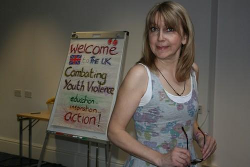 Sue Dudill Erasmus + SALTO trainer