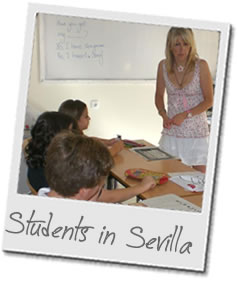 Students in Sevilla